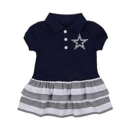 Dallas Cowboys Infant / Toddler Itty Bitty Polo Dress