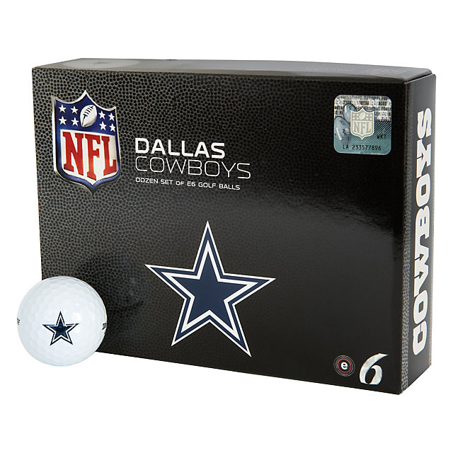 Dallas Cowboys Bridgestone E6 Dozen Golf Balls