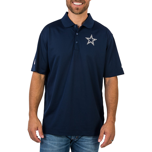 Dallas Cowboys Nike Staff Dri-Fit Polo