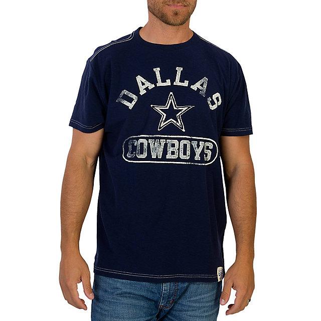 Dallas Cowboys Kingsley Slub Tee Super Soft T Shirts
