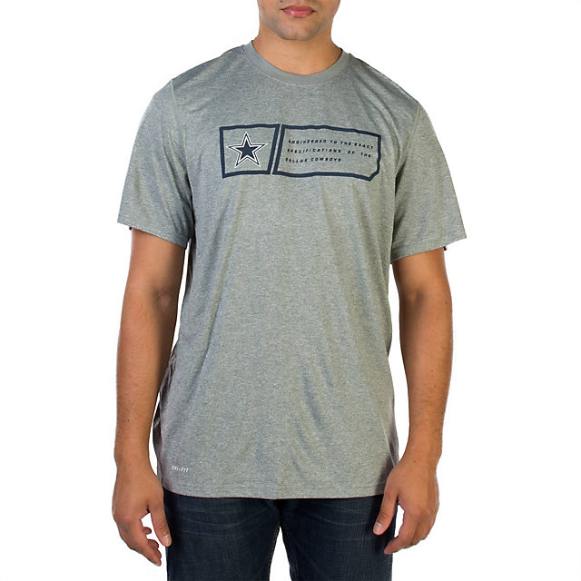 Dallas Cowboys Nike Legend Jock Tag Tee