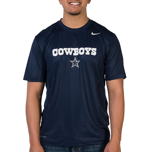 Dallas Cowboys Nike Hypercool Speed Top