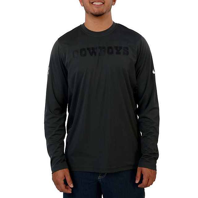 Dallas Cowboys Nike Speed Long Sleeve Dri Fit Top