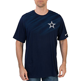 Dallas Cowboys Nike Legend Dri Fit Warp Tee