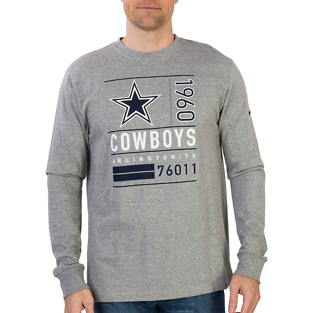 Dallas Cowboys Nike Retro Ticket Long Sleeve Tee