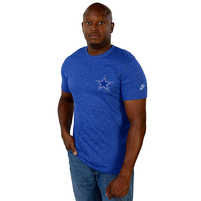 Dallas Cowboys Nike Rewind Cut Back Tee
