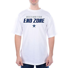 Dallas Cowboys Destination End Zone Tee