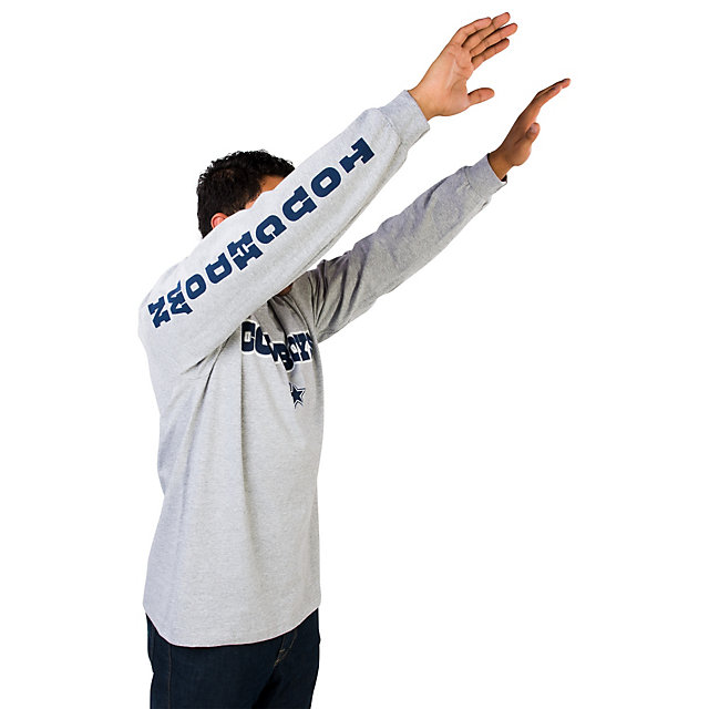 Dallas Cowboys Leaper 2 Long Sleeve Tee