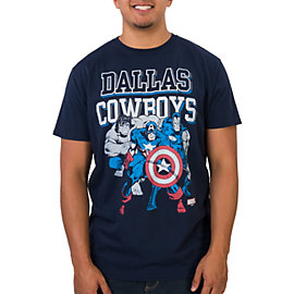 Dallas Cowboys Marvel Practice Heroes Tee