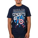 Dallas Cowboys Marvel Practice Heroes Tee