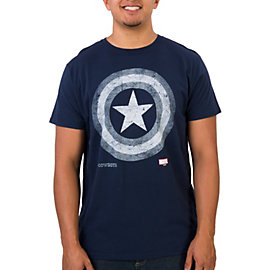 Dallas Cowboys Marvel Silver Shield Tee