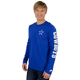 Dallas Cowboys Nike Rewind Long Sleeve Tee