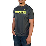 Dallas Cowboys Charged Down Short Sleeve Performance Tee
