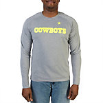 Dallas Cowboys Charged Down Long Sleeve Performance Tee