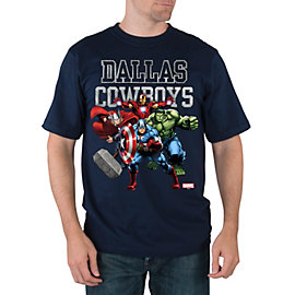 Dallas Cowboys Marvel Tough Team Tee