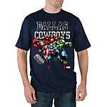 Dallas Cowboys Marvel Tough Team Tee