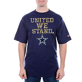 Dallas Cowboys United We Stand Camo Tee