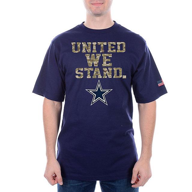 Dallas Cowboys United We Stand Camo Tee