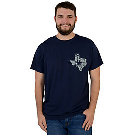 Dallas Cowboys Texas Pride Pocket Tee