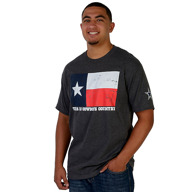 Dallas Cowboys Country Texas Flag Tee