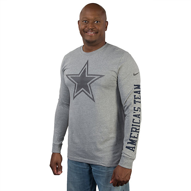 Dallas Cowboys Nike Reflective Long Sleeve Tee