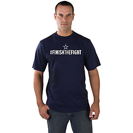 Dallas Cowboys Finish The Fight Tee - EXCLUSIVE