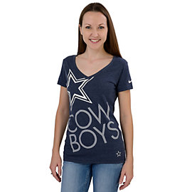 Dallas Cowboys Nike Upkilter V-Neck Tee