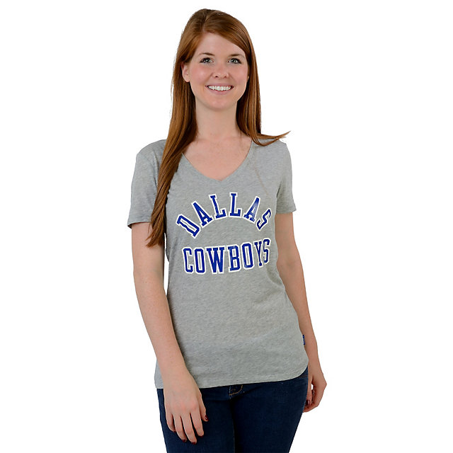 Dallas Cowboys Nike Womens Rewind Run Game Tee