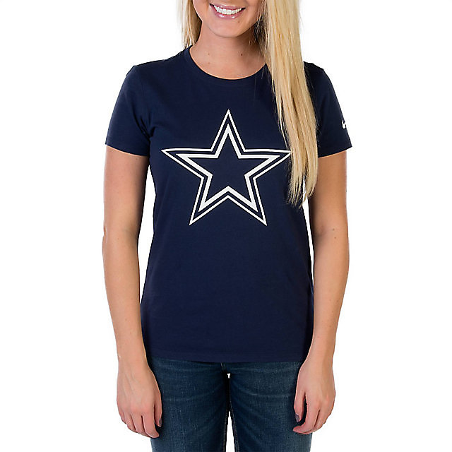 Dallas Cowboys Nike Logo Cotton Crew