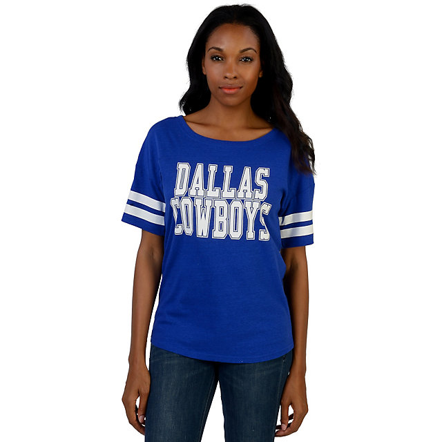 Dallas Cowboys Nike Womens Rewind Football Top