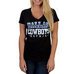Dallas Cowboys Electric Surge V-Neck Tee