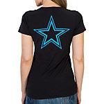 Dallas Cowboys Sunday Funday Slub V-Neck Tee