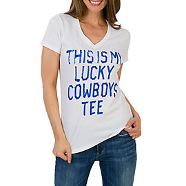 Dallas Cowboys Lucky V-Neck Tee
