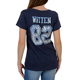 Dallas Cowboys Jason Witten #82 Go Team V-Neck