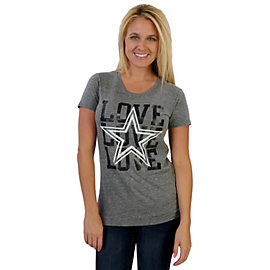 Dallas Cowboys Triple Love Tee