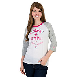 Dallas Cowboys Nike BCA Triblend Raglan