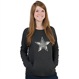 Dallas Cowboys Sequin Crew