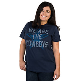 Dallas Cowboys Missy We Are Cowboys Crew Neck Tee