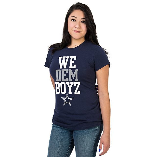 Dallas Cowboys Glitter WE DEM BOYZ Womens Tee