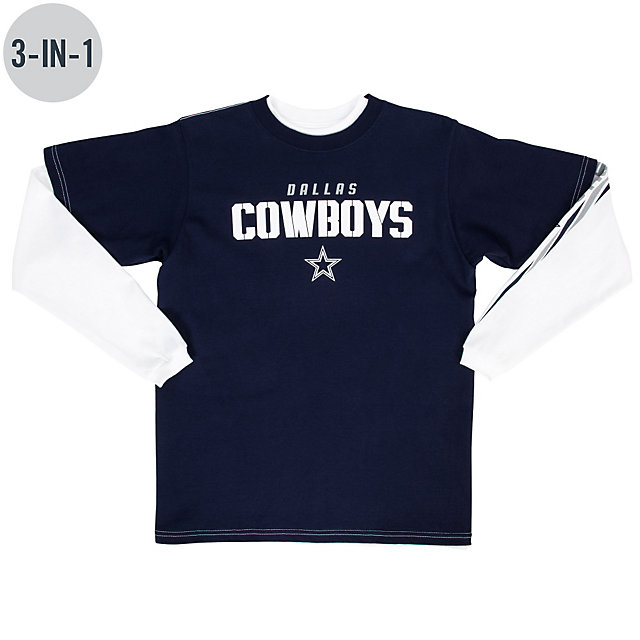 Dallas Cowboys Youth Spangler 3-in-1 Combo Tee