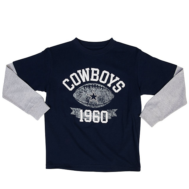 Dallas Cowboys Youth Alvin Layered Tee