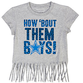 Dallas Cowboys Girls Airhaven Tee