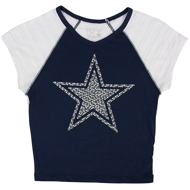 Dallas Cowboys Girls Helena Tee