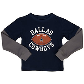Dallas Cowboys Toddler Barton Layered Tee