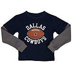 Dallas Cowboys Toddler Barton Layered Tee