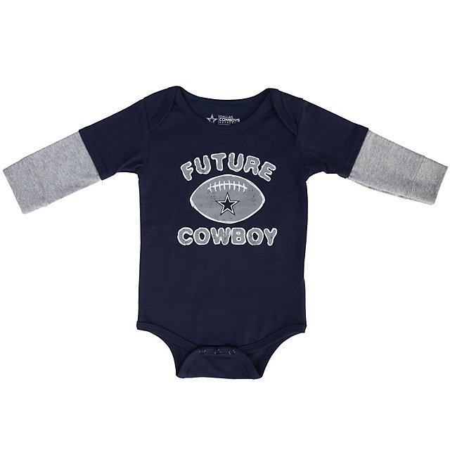 Dallas Cowboys Infant Ashton Layered Bodysuit