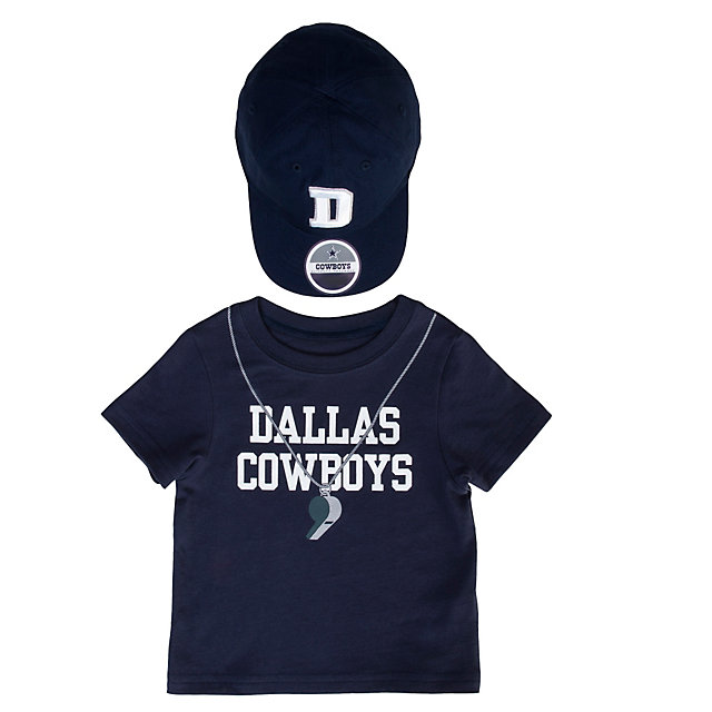 Dallas Cowboys Toddler Lil Coach Tee and Hat