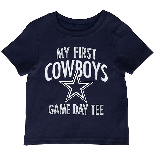 Dallas Cowboys Infant My First Game Day Tee