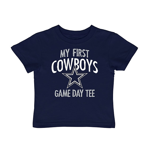 Dallas Cowboys Toddler My First Game Day Tee