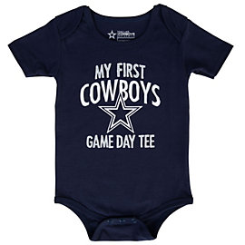 Dallas Cowboys My First Game Day Bodysuit